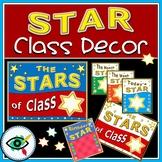 The stars of class decor