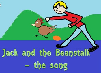 The story of Jack and the beanstalk in song