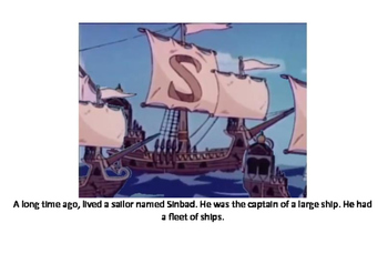 The story of Sinbad the sailor