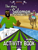 The story of Solomon Activity Book for Beginners