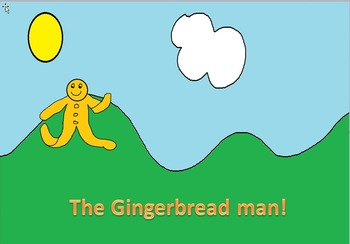 The story of the gingerbread man in song