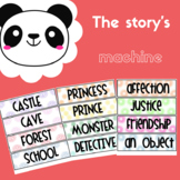 The story's machine- Activity for stories creation