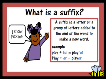 The suffix -ous