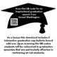 The tassel will be worth the hassle: pro-graduation bulletin board