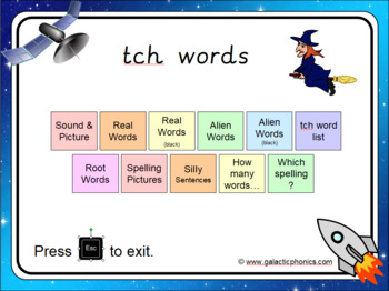 The 'tch' PowerPoint