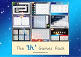 The 'th' Phonics Games Pack