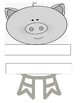 The three little pigs retell craft