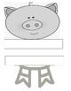 The three little pigs retell craft