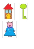 The three little pigs word matching