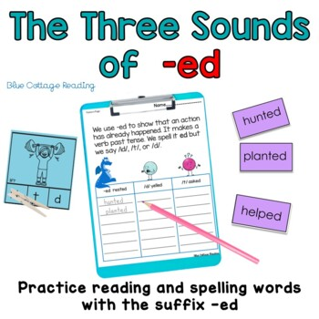 The three sounds of -ed
