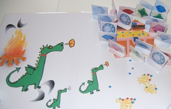 The treasure of the dragon for kids