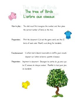 The tree of Birds / L'arbre aux oiseaux