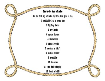 The twelve days of rodeo