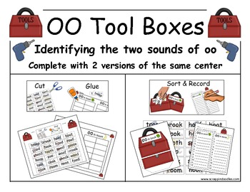 The two Sounds of oo (Tool Boxes)