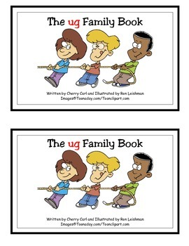 The ug Family Book (Guided Reader)