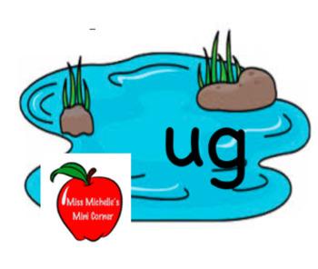 The -ug Word Family Pond Game