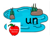 The -un Word Family Pond Game