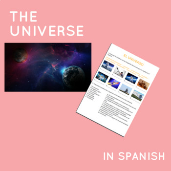 The universe in Spanish / El universo.
