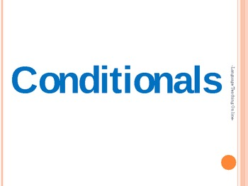 The use of Conditionals.