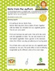 The vegetable garden: spring themed math and language activities