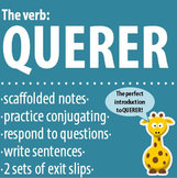 Spanish - The verb: QUERER - Intro, Practice, Respond, Write!