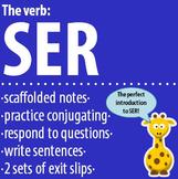Spanish 1 - The verb: SER - Intro, Practice, Respond, Write!