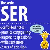 Spanish 1 - The verb: SER - Intro, Practice, Respond, Write!