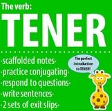 Spanish 1 - The verb: TENER - Intro, Practice, Respond, Write!