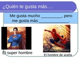 The Spanish verb gustar practice then an introduction to possessive adjectives