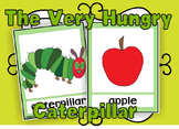 The Very Hungry Caterpillar flashcards