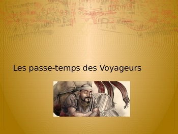 The voyageurs of Quebec in French