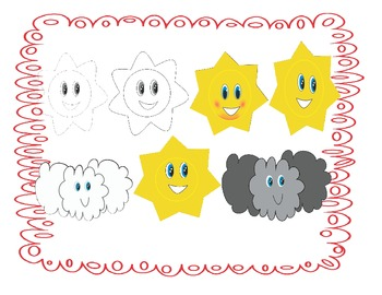 The weather- Clipart set 4