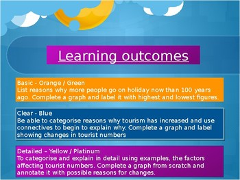 The whole power point lesson on tourism; Introduction to tourism