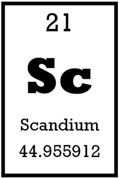 """Spelling """"Science"""" using elements from the Periodic Table"""