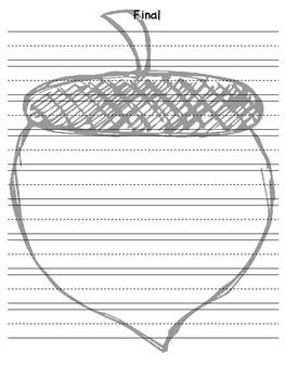 The writing process - acorn