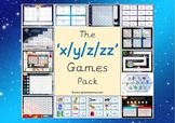 The 'x/y/z/zz' Phonics Games Pack