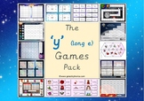 The -y (long e) Games Pack