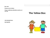 The yellow box sight word book (goes with star student reading log)