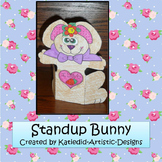 Spring Craft, Bunny That Stands-Up
