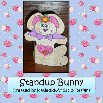 Easter Bunny That Stands-Up