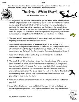 The_GREAT_WHITE_SHARK_RIGOROUS_PARCC_COMMON_CORE_ASSESS_DR_LOCKETT