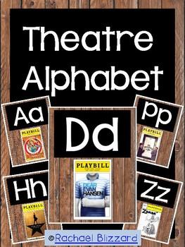 Theatre Alphabet Posters