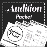 Theatre Audition Packet and Production Contract