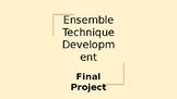 Theatre - Ensemble Technique Development Project