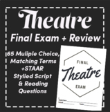 Theatre Final Exam: Scantron