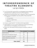 Theatre I-IV: Lip Sync Battle Project
