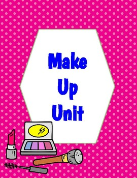 Theatre Makeup Unit Handouts for Interactive Notebooks