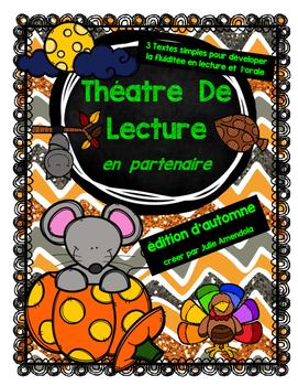 Théatre  de  Lecture  EN  PARTENAIRE!!!  (édition d'automne)