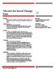Theatre for Social Change Unit