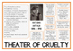 Theatre of Cruelty ARTAUD Poster